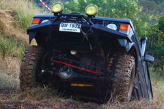 Carro de motor Fotografia de Stock Royalty Free