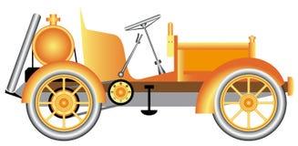 Carro de motor do vintage. Ilustração Royalty Free