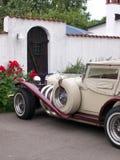 Carro de motor do vintage Fotografia de Stock