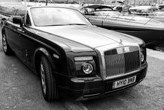 Carro de motor Rolls royce Phantom Drophead Coupe imagem de stock royalty free