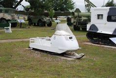 Carro de neve militar Imagens de Stock