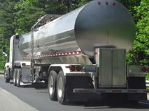 Carro de petrolero del combustible Fotografía de archivo