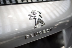 Carro de Peugeot imagem de stock