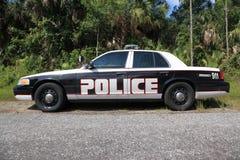 Carro de polícia Fotos de Stock Royalty Free