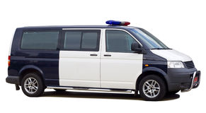 Carro de polícia Fotografia de Stock