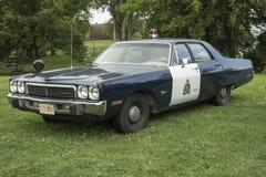 Carro de polícia Imagens de Stock