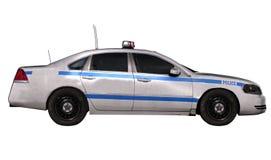 Carro de polícia ilustração royalty free