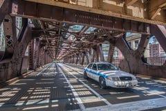 Carro de polícia de Chicago Fotografia de Stock
