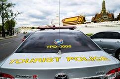 Carro de polícia do turista Imagem de Stock Royalty Free