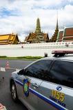 Carro de polícia do turista Fotos de Stock Royalty Free