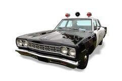 Carro de polícia do vintage Imagens de Stock Royalty Free