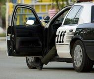 Carro de polícia Imagem de Stock Royalty Free