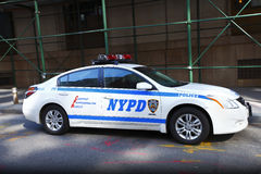 Carro de polícia de NYPD Imagens de Stock Royalty Free