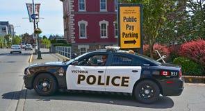 Carro de polícia de Victoria Imagens de Stock