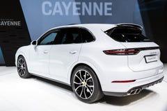 Carro de Porsche Cayenne SUV fotos de stock