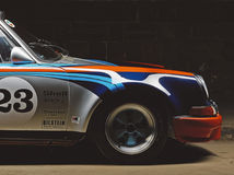Carro de Porsche 911 do vintage Fotografia de Stock