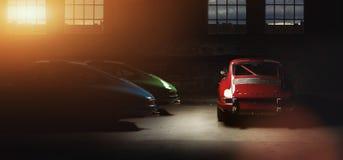 Carro de Porsche 911 do vintage Fotos de Stock Royalty Free