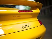 Carro de Porsche 911 do vintage Imagem de Stock