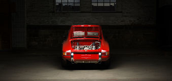 Carro de Porsche 911 do vintage Fotografia de Stock Royalty Free