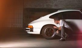 Carro de Porsche 911 do vintage Imagem de Stock Royalty Free