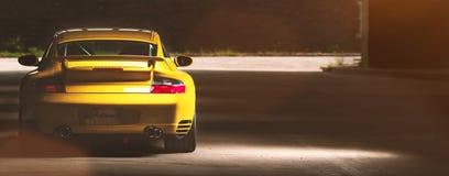Carro de Porsche 911 do vintage Foto de Stock Royalty Free