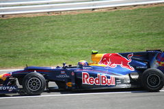 Carro de Red Bull F1 fotografia de stock royalty free