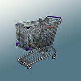 Carro de Shoping Foto de Stock Royalty Free