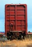 Carro de trem da parte traseira Imagem de Stock Royalty Free