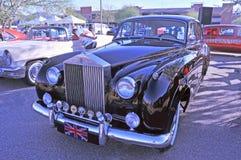Carro de turismo lateral esquerdo de Rolls royce da movimentação imagem de stock royalty free