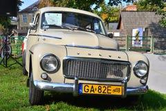 Carro de Volvo B18 do vintage estacionado Fotografia de Stock