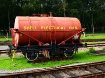 Carro del aceite Imagenes de archivo