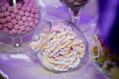 Carro del caramelo Foto de archivo libre de regalías