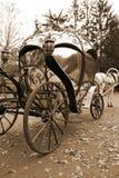 Carro del cuento de hadas Foto de archivo