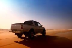 Carro del desierto Imagenes de archivo