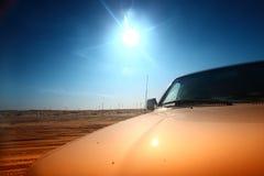 Carro del desierto Imágenes de archivo libres de regalías