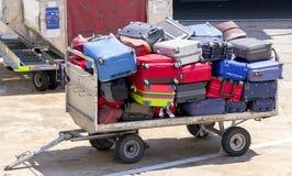 Carro del equipaje Imagen de archivo libre de regalías