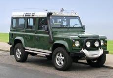 Carro del jeep de land rover Fotos de archivo libres de regalías