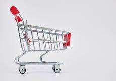 Carro del mercado Imagen de archivo libre de regalías