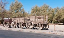 Carro del mineral en Death Valley Imagen de archivo libre de regalías