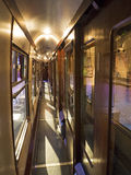 Carro del tren del vapor Foto de archivo
