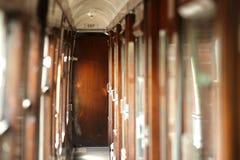 Carro del tren del vintage Imagen de archivo libre de regalías