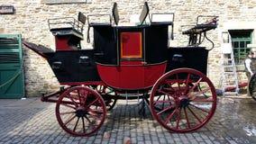 Carro desenhado cavalo Fotos de Stock Royalty Free