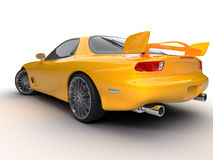 Carro desportivo ilustração royalty free
