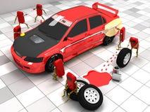 Carro desportivo Fotografia de Stock