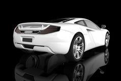 Carro desportivo branco Imagens de Stock