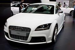 Carro desportivo branco Audi Fotos de Stock