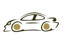 Carro desportivo da velocidade ilustração stock