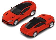 Carro desportivo de alta qualidade isométrico do vetor Ícone do transporte ilustração do vetor