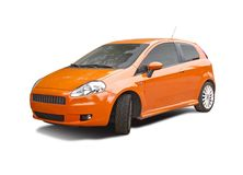 Carro desportivo de Fiat Fotografia de Stock Royalty Free