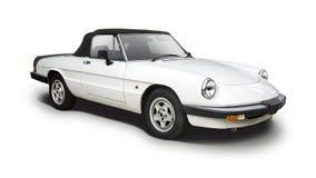 Carro desportivo do clássico de Alfa Romeo fotos de stock royalty free